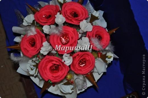 "Букет из конфет ""Роза"" фото 4"