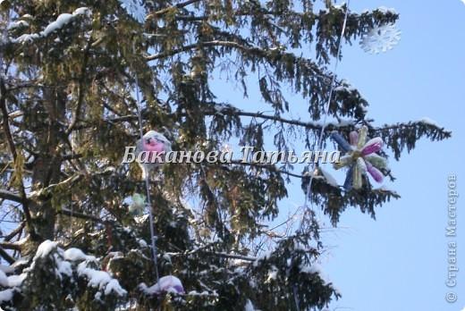 Украсим елку в парке