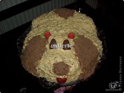 """Торт """" Собачка"""""""