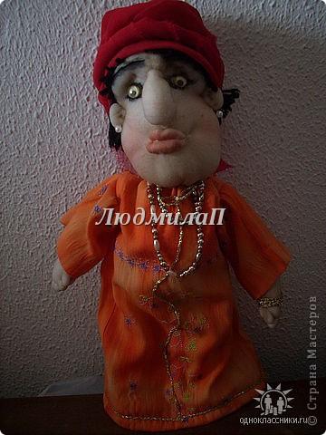 Голова для куклы.Глазки-бусинки. фото 3
