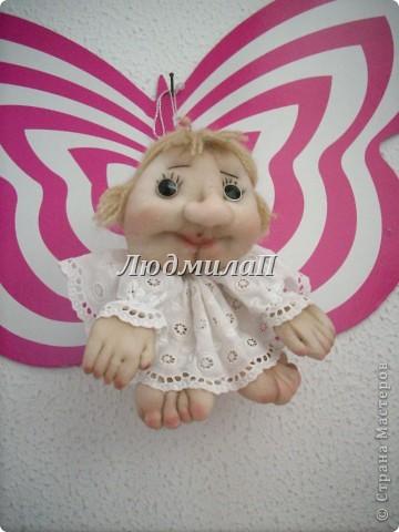 Голова для куклы.Глазки-бусинки. фото 8