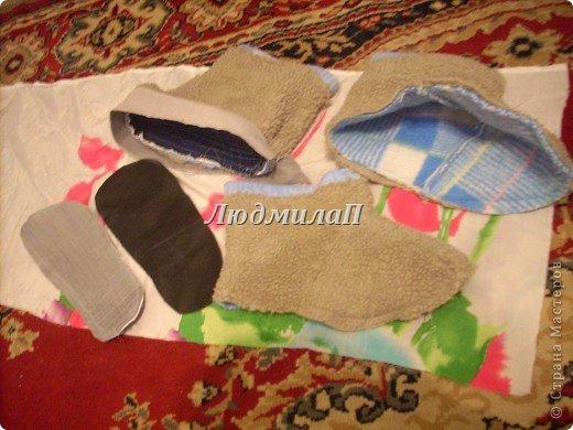 Как сшить следки из ткани своими руками 47
