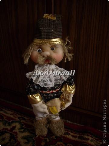 Голова для куклы.Глазки-бусинки. фото 7