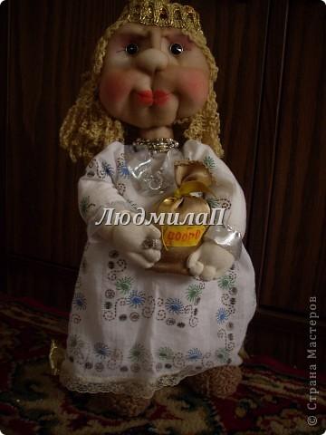 Голова для куклы.Глазки-бусинки. фото 6
