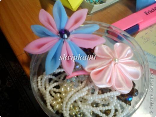 Этот цветочек сделала для подружки ))) фото 3