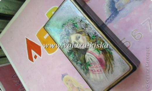 шкатулка федоскино-для защиты по миниатюрной росписи!) фото 4