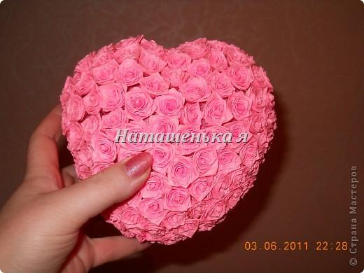 "Сердце из роз Квиллинг "" ProstoDelkino.com - поделки своими руками."
