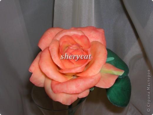 Эта роза сделана мной фото 4