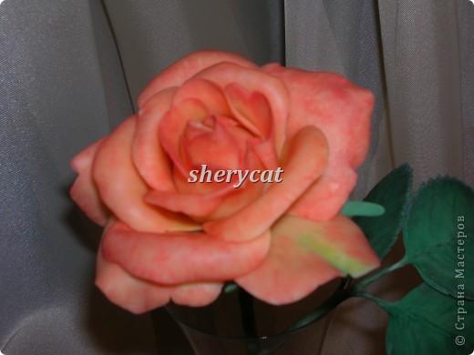 Эта роза сделана мной фото 5