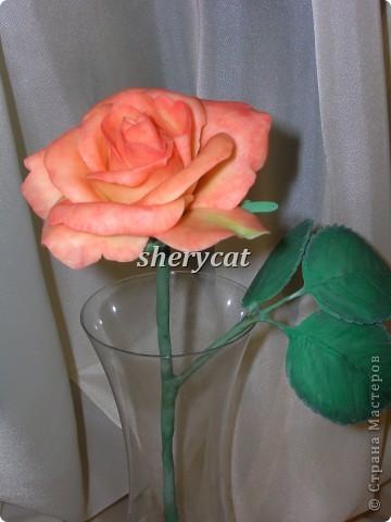 Эта роза сделана мной фото 3