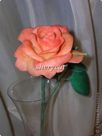 Эта роза сделана мной фото 1