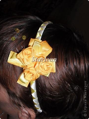 желтенький ободок фото 1