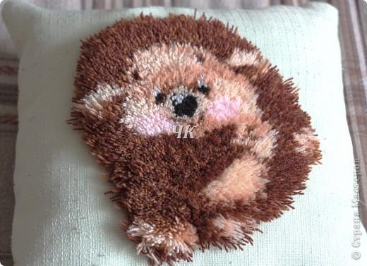 Ежикастая подушка фото 1