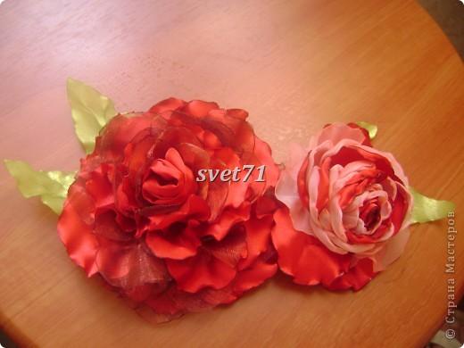 Розы почему то на фото получились красные,на самом деле они бордовые))) фото 1