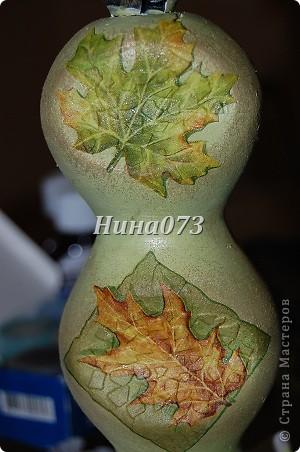 Я нашла еще применение новой салфеточке, устроила небольшой листопад :))) это для моей любимой крестной фото 6