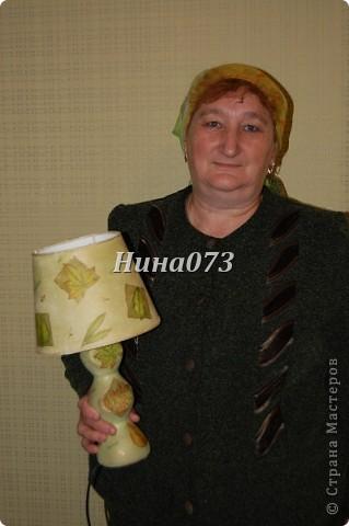 Я нашла еще применение новой салфеточке, устроила небольшой листопад :))) это для моей любимой крестной фото 9
