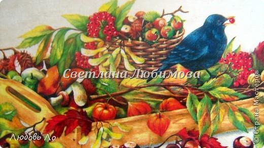Картина панно рисунок Квиллинг Урожай Бумажные полосы фото 3