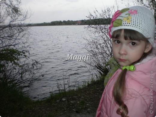 Легкая детская шапочка на весну. фото 2