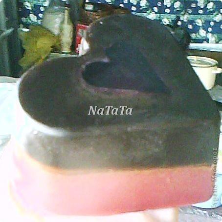 """Мыло в виде сердца с эфирными маслами бергамота и грейпфрута.А внутри плавают))))сердечки из """"шоколадной""""основы. фото 5"""