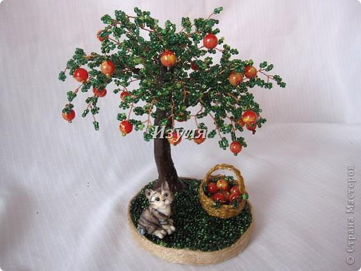 Бисероплетение МК яблоньки
