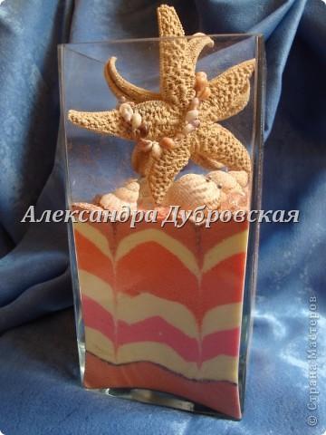 Вот такая получилась морская ваза фото 1