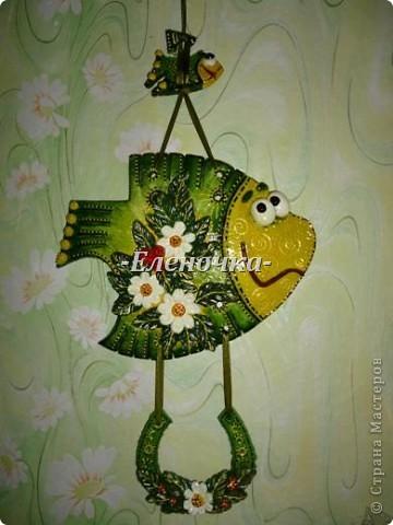 К сожалению маленькая рыбеха не выдержала давления большой и раскололась, реабилитируем)))