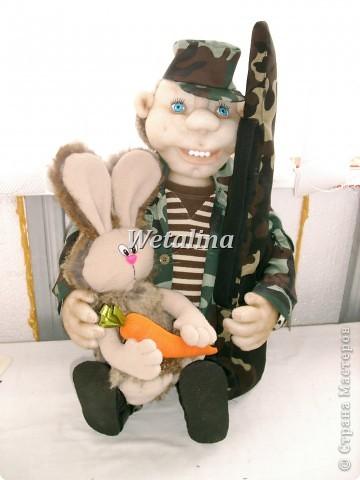 Вот такой охотник получился на подарок ко дню Рождения куму!!!!! фото 11