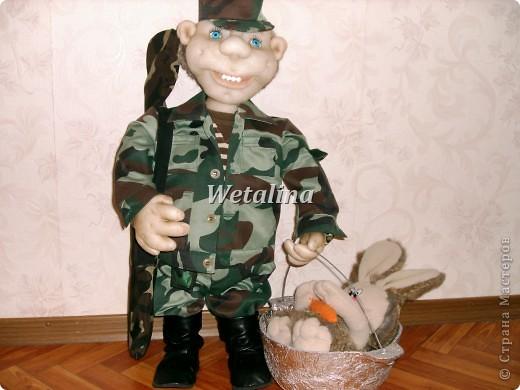 Вот такой охотник получился на подарок ко дню Рождения куму!!!!! фото 1