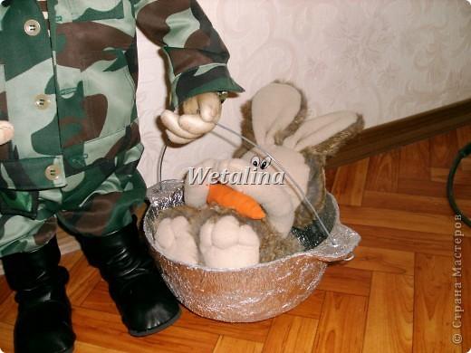 Вот такой охотник получился на подарок ко дню Рождения куму!!!!! фото 12