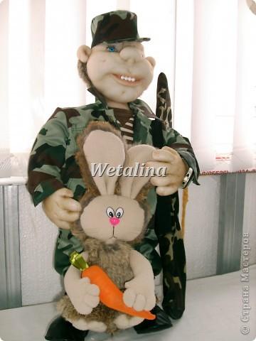 Вот такой охотник получился на подарок ко дню Рождения куму!!!!! фото 3