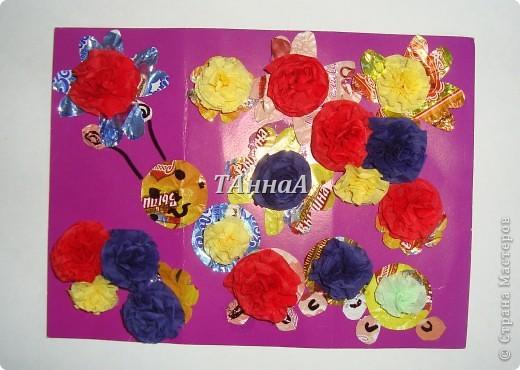 Гусеничка в цветочках. фото 1