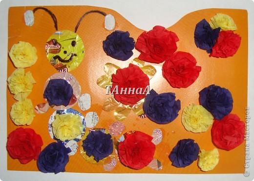 Гусеничка в цветочках. фото 2