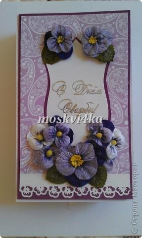 подарочная открытка/коробка на свадьбу фото 1