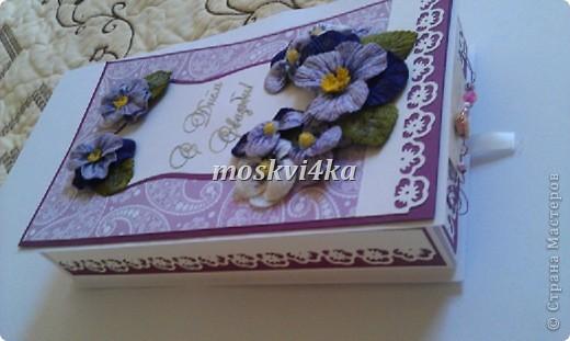 подарочная открытка/коробка на свадьбу фото 2