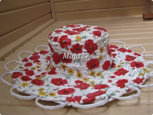 Шляпка маковая. фото 4