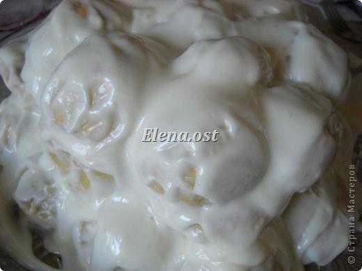 При копировании статьи, целиком или частично, пожалуйста, указывайте ссылку на источник! http://stranamasterov.ru/user/9321 http://stranamasterov.ru/node/211551 Торт с черносливом.  Тесто: 3 яйца,  1 ст. сахара, 1 ч. л. соды, погашенной уксусом, 300 г маргарина, 4-5 ст. муки. Начинка: 30 шт. чернослива, 30 шт. грецких орехов (половинки ядер ореха). Крем: 1л сметаны, 2 ст. сахара. фото 18