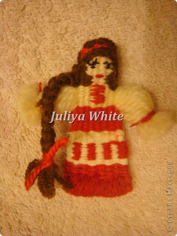 Тканые куклы- сувениры)) фото 12