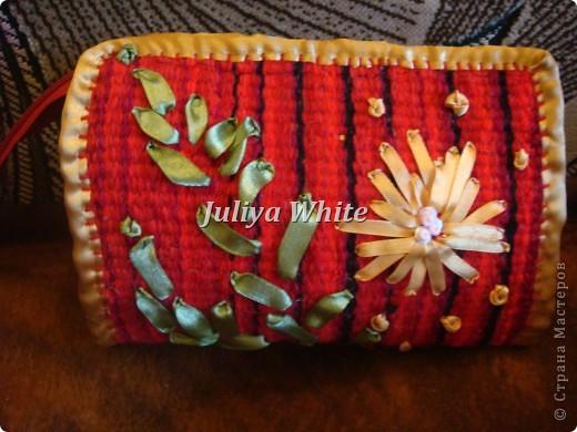 тканые косметички (Ручное ткачество)  фото 2