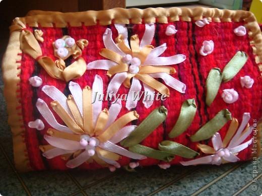 тканые косметички (Ручное ткачество)  фото 1