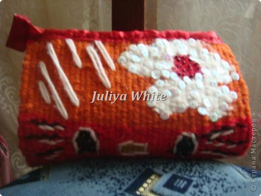 тканые косметички (Ручное ткачество)  фото 4