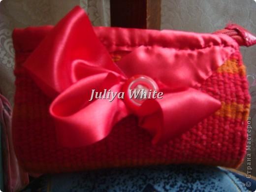 тканые косметички (Ручное ткачество)  фото 5