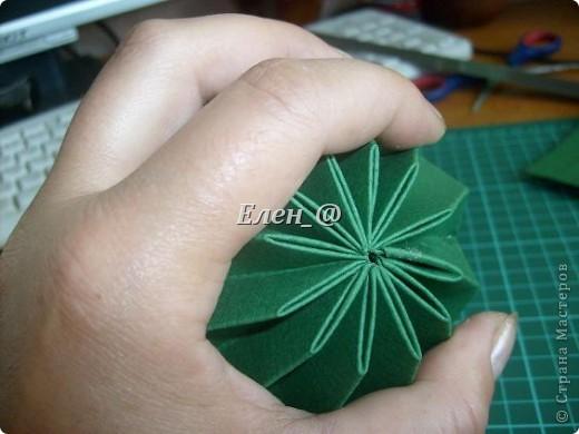 Вот такой кактус расцвел наконец у меня. Идея -не моя. В Хабаровском центре корейского бумажного творчества, которым руководит Софья Николаевна Баланюк я увидела другой кактус фото 9