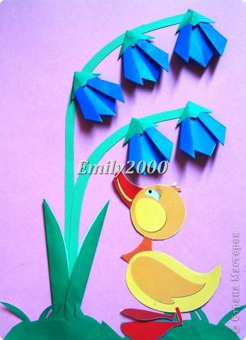 Оригами - колокольчик