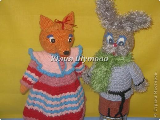 заяц Степан и лиса Патрикеевна. фото 1