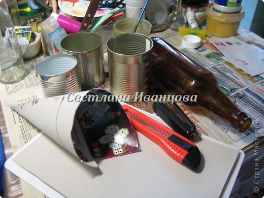 Здравствуйте все! Сегодня по Вашим просьбам делаем домик из солёного теста. Я замешивала тесто по рецепту Инны    http://stranamasterov.ru/node/87113  Спасибо, очень нравится! фото 2