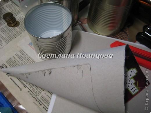 Здравствуйте все! Сегодня по Вашим просьбам делаем домик из солёного теста. Я замешивала тесто по рецепту Инны    http://stranamasterov.ru/node/87113  Спасибо, очень нравится! фото 4