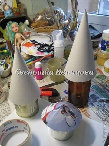 Здравствуйте все! Сегодня по Вашим просьбам делаем домик из солёного теста. Я замешивала тесто по рецепту Инны    http://stranamasterov.ru/node/87113  Спасибо, очень нравится! фото 6