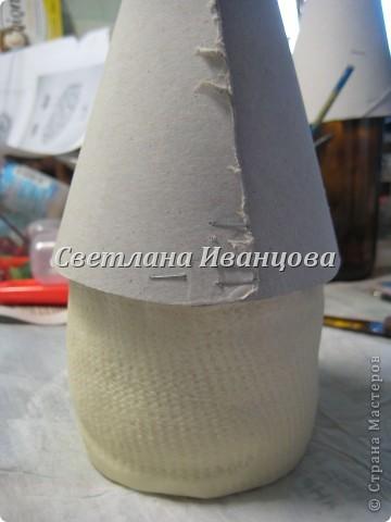 Здравствуйте все! Сегодня по Вашим просьбам делаем домик из солёного теста. Я замешивала тесто по рецепту Инны    http://stranamasterov.ru/node/87113  Спасибо, очень нравится! фото 9
