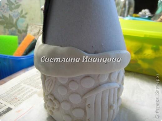 Здравствуйте все! Сегодня по Вашим просьбам делаем домик из солёного теста. Я замешивала тесто по рецепту Инны    http://stranamasterov.ru/node/87113  Спасибо, очень нравится! фото 14