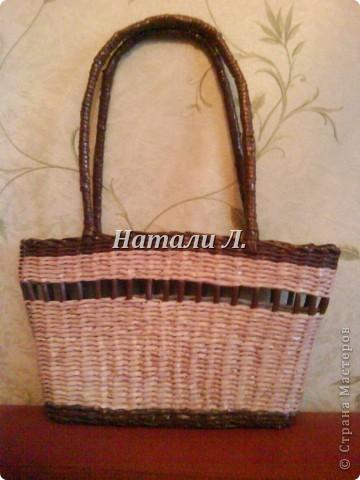 сумка - плетенка фото 1